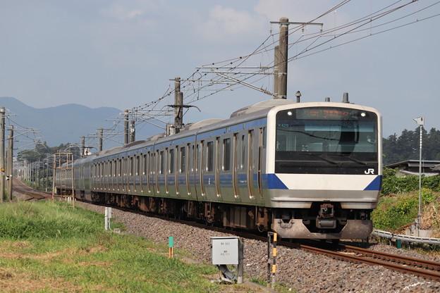 常磐線 E531系K425編成 1129M 普通 勝田 行 2019.08.04