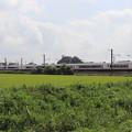 夏の田園風景を行くE657系 (3)