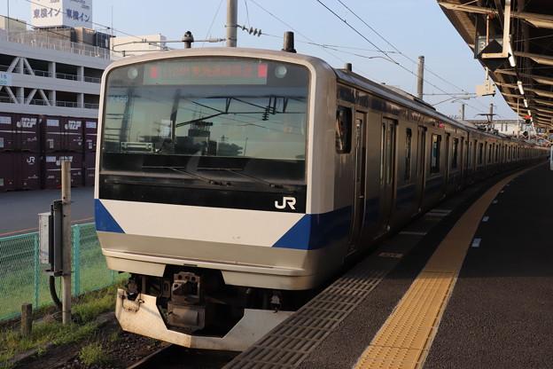 常磐線 E531系K459編成