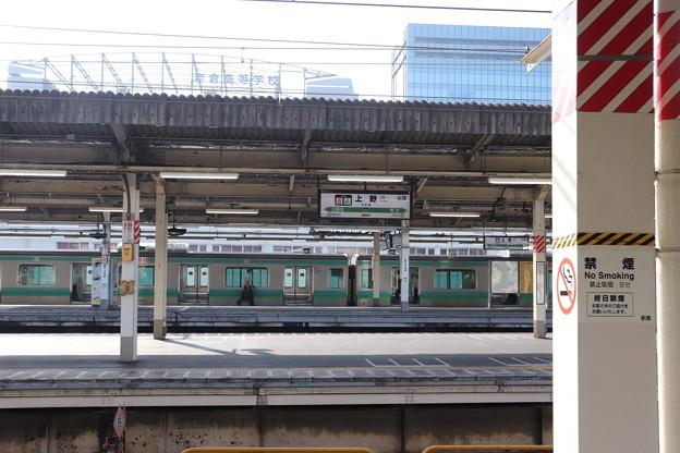 上野駅 ホーム