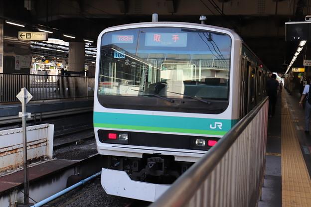 常磐快速線 E231系マト109編成