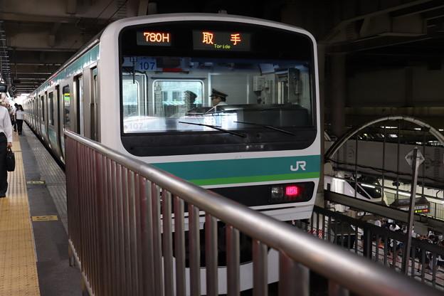 常磐快速線 E231系マト107編成