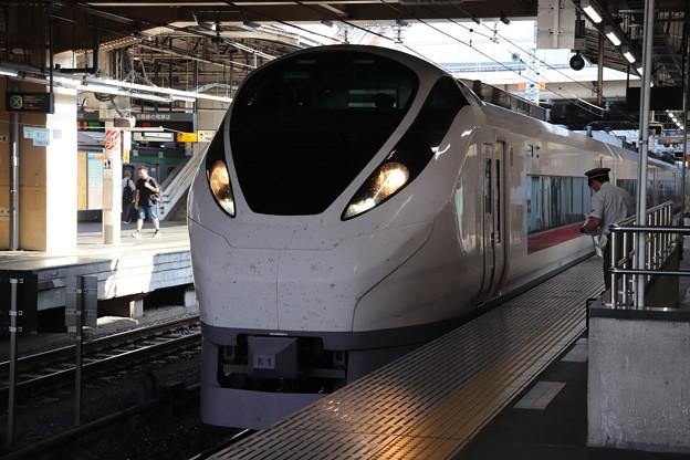 上野東京ライン E657系K1編成 ひたち・ときわ