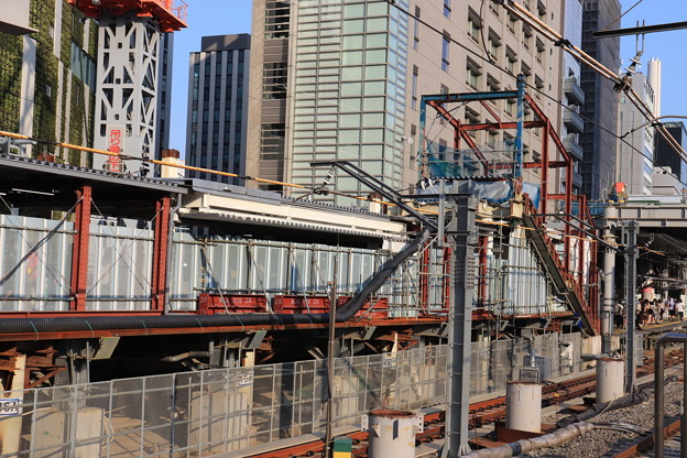 建設中の埼京線渋谷駅新ホーム (4)