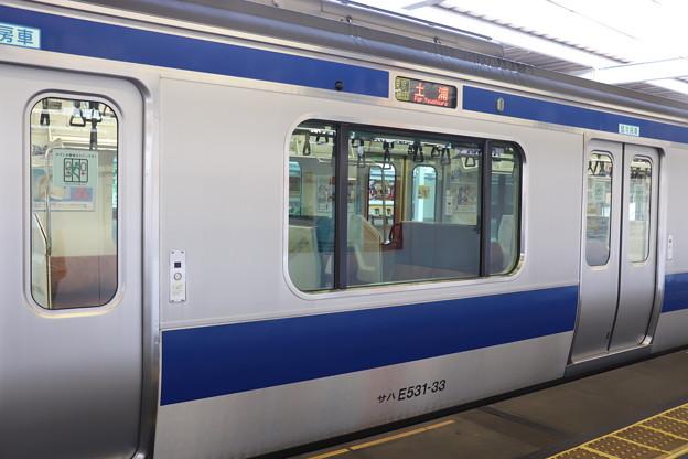 E531系 後期車 細部