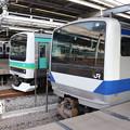 Photos: 東海道線 E231系マト123編成・E531系K471編成