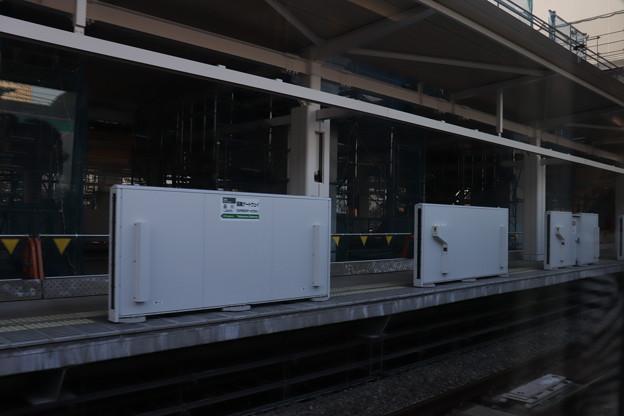 建設中の高輪ゲートウェイ駅 (1)