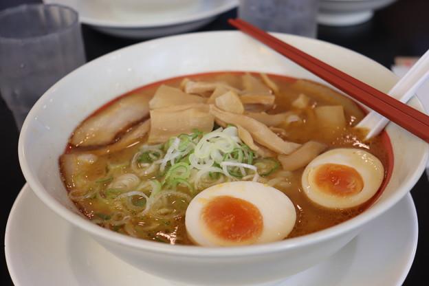 Photos: 中華そば幸楽苑 渋谷 味噌ラーメン メンマ・茹卵 トッピング