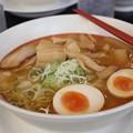 中華そば幸楽苑 渋谷 味噌ラーメン メンマ・茹卵 トッピング