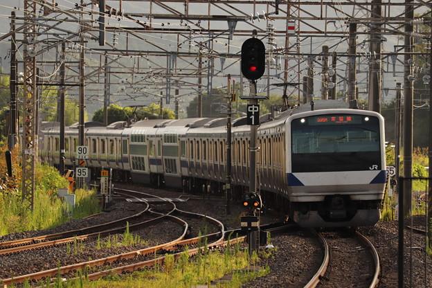 常磐線 E531系K426編成 395M 普通 勝田 行 2019.08.05