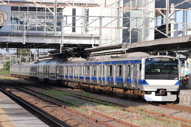 常磐線 E531系K423編成 444M 普通 上野 行 2019.08.05