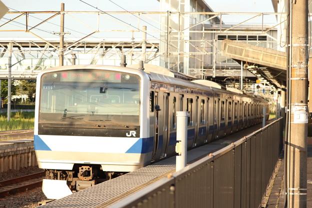 水戸線 E531系K459編成 757M 普通 友部 行 2019.08.05