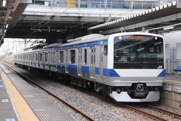常磐線 E531系K479編成 1159M 普通 勝田 行 2019.08.13 (1)