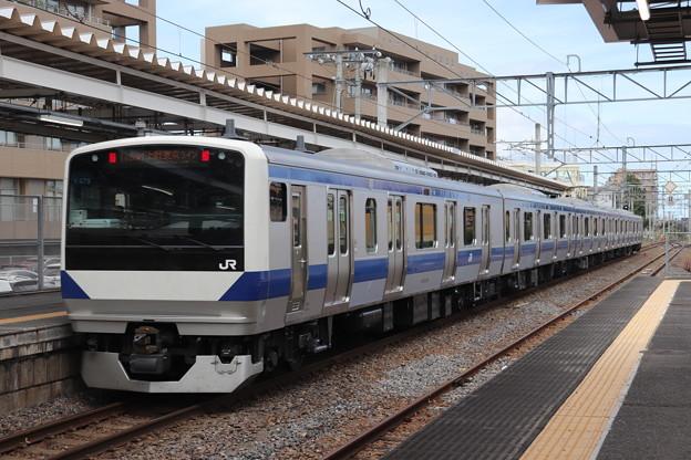 常磐線 E531系K479編成 1159M 普通 勝田 行 後追い 2019.08.13