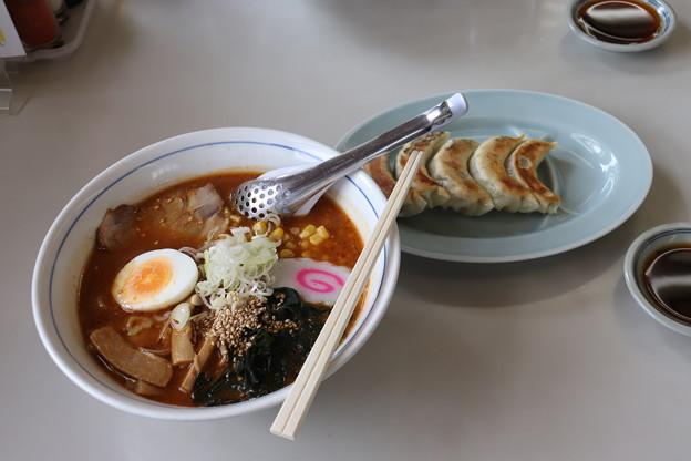 麺屋大黒 赤味噌ラーメン&餃子