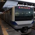 水戸線 E531系K475編成 764M 普通 小山 行 後追い 2019.09.05
