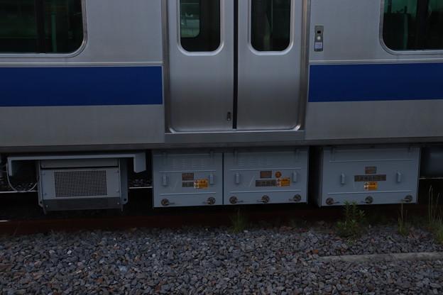 E531系 KY出場後の床下