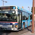 茨城交通 水戸200か1741 「いきいき茨城ゆめ国体・大会」ラッピング