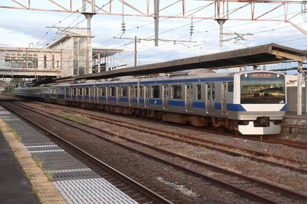 常磐線 E531系K417編成 432M 普通 上野 行 2019.09.09