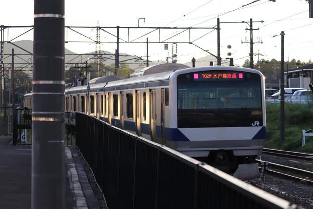 水戸線 E531系3000番台K557編成 762M 普通 小山 行 後追い 2019.09.09