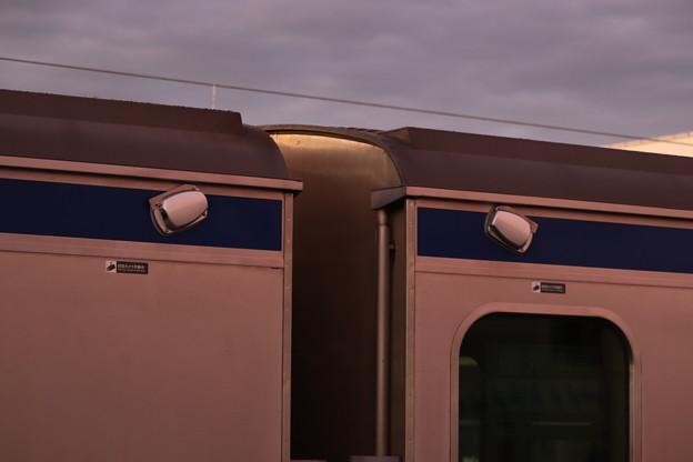 E531系3000番台K552編成の側面に取り付けられた安全確認カメラ (1)