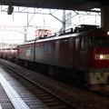 水戸駅で抑止している安中貨物5094レ EH500-74 2019.09.10