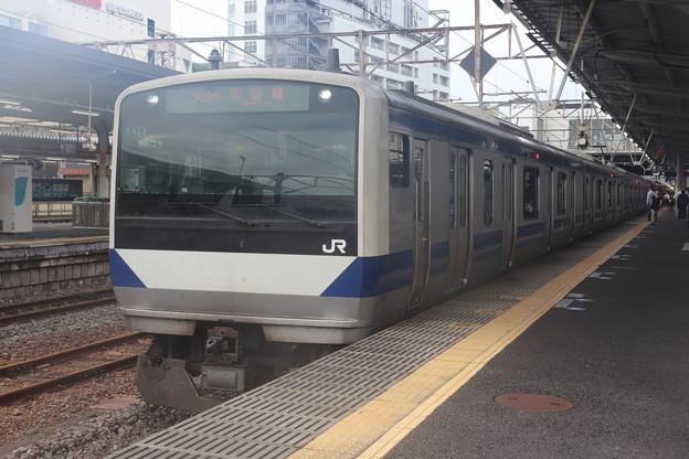 常磐線 E531系K423編成 323M 普通 高萩 行 2019.09.11