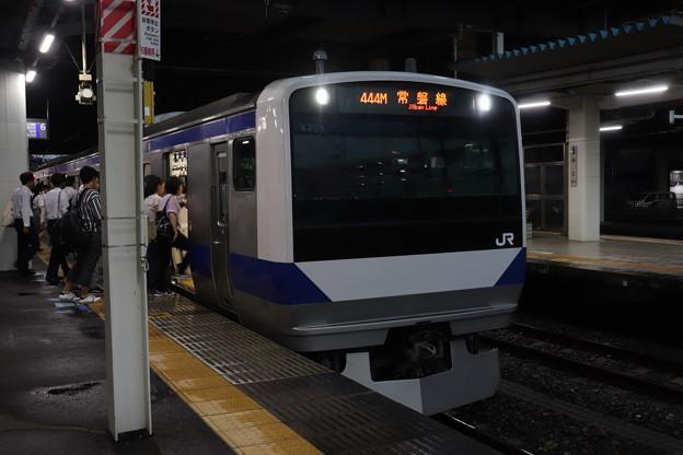 常磐線 E531系K408編成 440M 普通 上野 行 2019.09.11