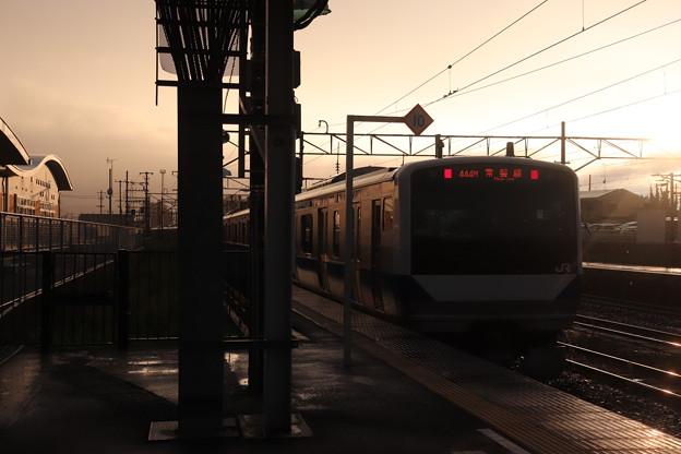 常磐線 E531系K408編成 440M 普通 上野 行 後追い 2019.09.11