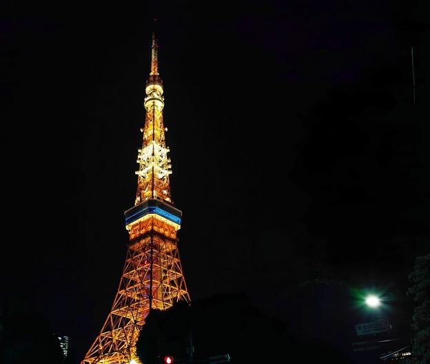 02.夜の東京タワー その(1)