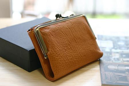 土屋鞄のがま口ポケット財布(購入時)