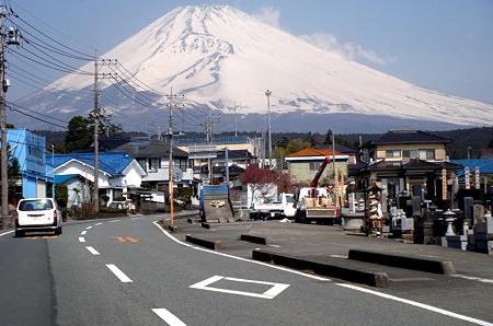 普通の富士山