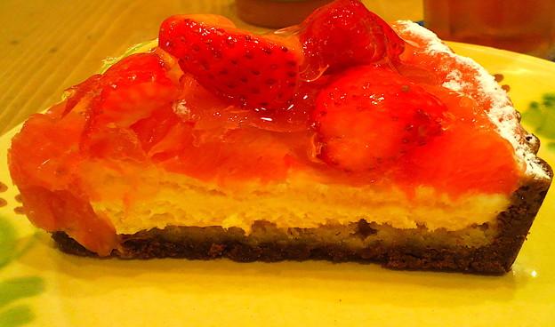 フルーツタルトいちごのケーキ