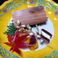 焼肴~魳、干柿博多、菊花、稲穂