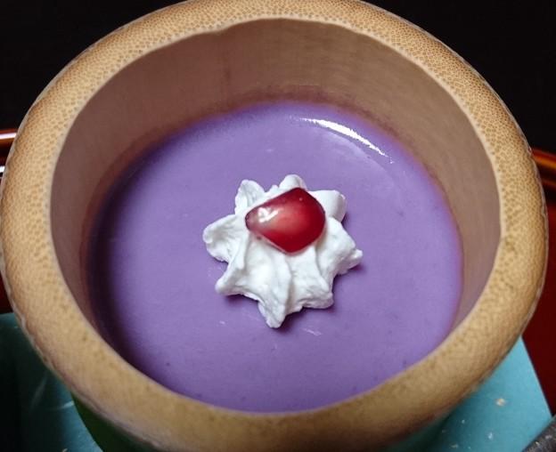紫芋ムース