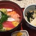 海鮮丼セット 1100円