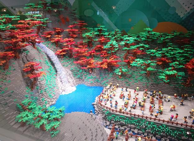 レゴ箕面の滝