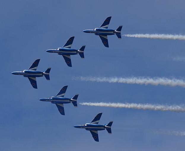 ブルーインパルス 小松基地航空祭