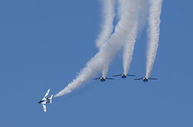ブルーインパルス 小松航空祭