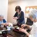 Photos: 母の所で一緒に昼食