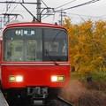 写真: 単線の電車 津島行き~♪