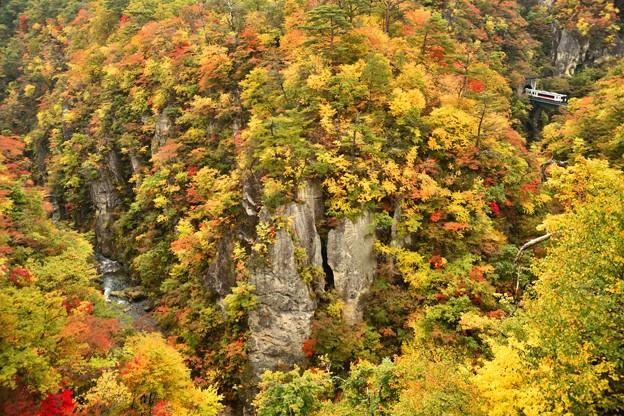 秋の鳴子峡1