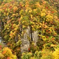 Photos: 秋の鳴子峡1