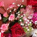 写真: かわいらしい花束です