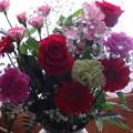 写真: 誕生祝いのお花