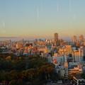 Photos: 夕日に染まる@天王寺20181124