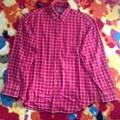 写真: 3)ネルシャツ 赤 3ドル
