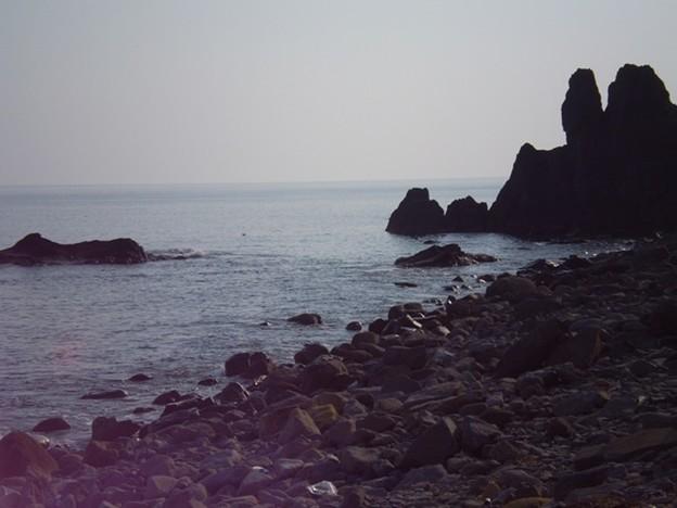 Photos: 津軽半島は海に囲まれる