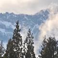 写真: 雲沸き立つ