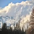 写真: 冬雲